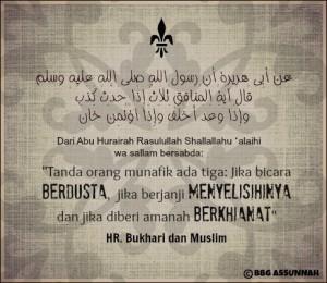Sifat-sifat Munafik