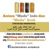 """Antara """"Madu"""" Indo dan """"Madu"""" Arab"""