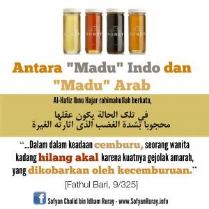 Antara Madu Indo dan Madu Arab