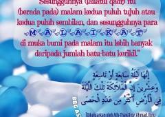Hukum Membaca Do'a Lailatul Qadr Setiap Habis Sholat Lima Waktu Secara Berjama'ah di Bulan Ramadhan