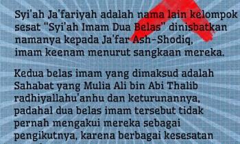 Sesatkah Syi'ah Ja'fariyah?