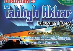 Audio Tabligh Akbar Maros Sulawesi Selatan 1435 H