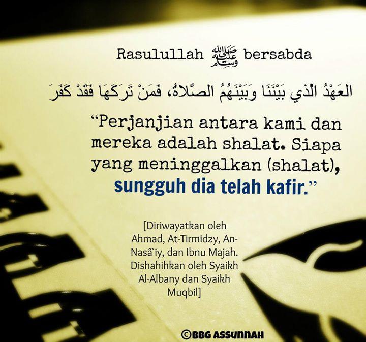 Keagungan Sholat Dalam Islam