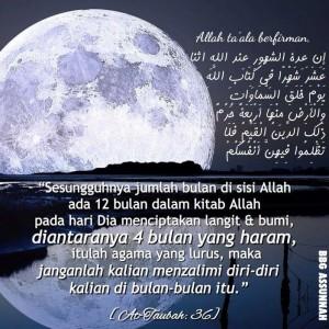 Ayat ttg Bulan Haram