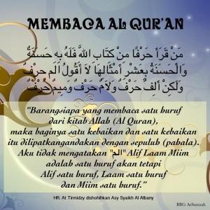 Keutamaan Baca Quran