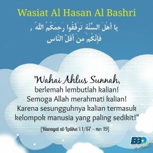 Berlemahlembutlah Ahlas Sunnah 1