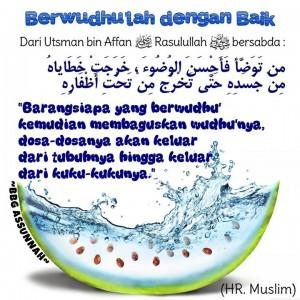 Berwudhu Sesuai Sunnah