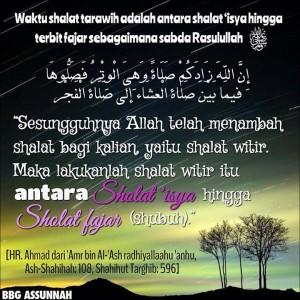 Sholat Malam di Bulan Ramadhan