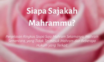 Siapa Sajakah Mahrammu?