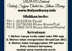 Info Akun-akun Dakwah www.SofyanRuray.info