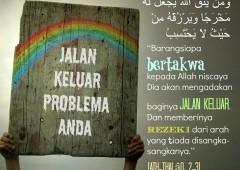 Jalan Keluar Setiap Problema Menurut Tuntunan Agama