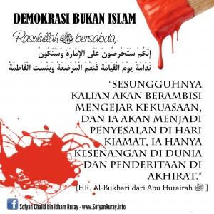 Demokrasi bukan Islam