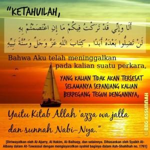 Kunci Selamat dari Kesesatan adalah Berpegang Teguh dengan Manhaj Salaf