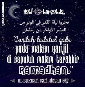Lailatul Qodr di Malam Ganjil 10 Hari Akhir Ramadhan
