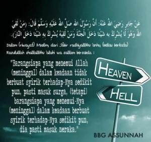 Siapa yang Pasti Masuk Surga dan Neraka