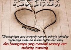 Jangan Merusak Rumah Tangga Orang, Jangan Menggoda dan Mengajak Nikah Istri Orang