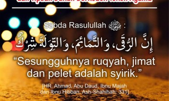 Peringatan dari Ruqyah Syirik dan Dukun Kerkedok Tokoh Agama