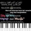 """Antara Pemabuk dan Penyanyi + Pelaku Bid'ah """"Hasanah"""""""