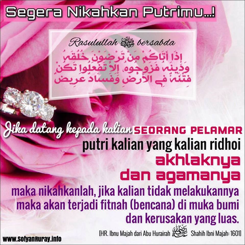 Segera Nikahkan Putrimu 1