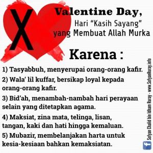 Valentine Day termasuk Dosa Besar yang Membuat Allah Murka