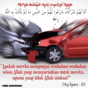 Bahaya Bid'ah (Menyerupai Kaum Musyrikin)
