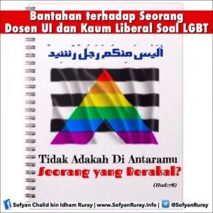 Bantahan terhadap Seorang Dosen UI dan Kaum Liberal Soal LGBT (Tidak Adakah Di Antaramu Seorang yang Berakal) 2